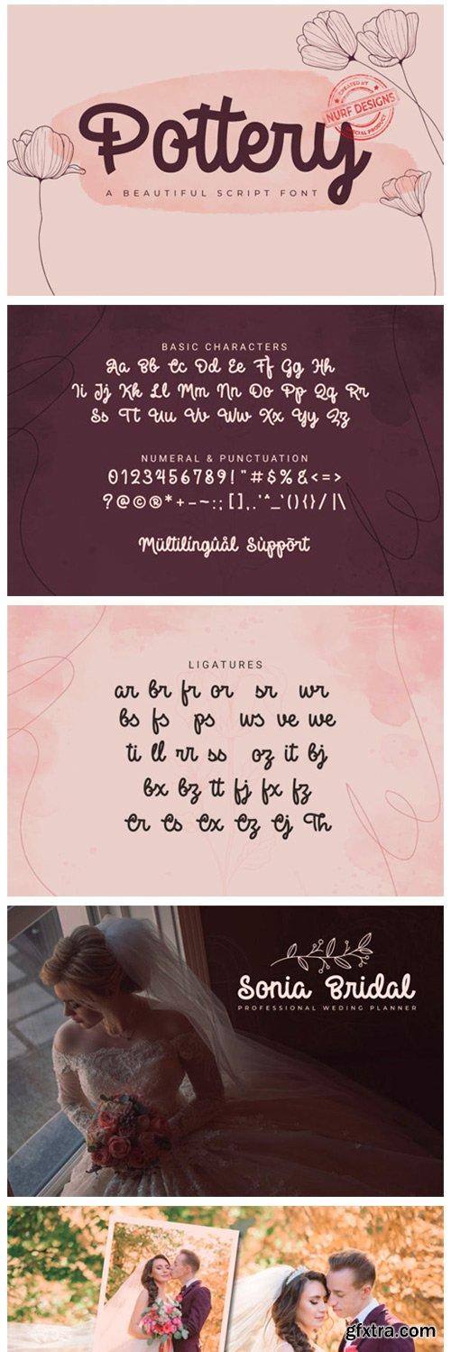 Pottery Font