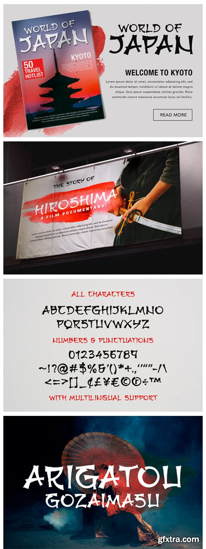 Hirokawa Font