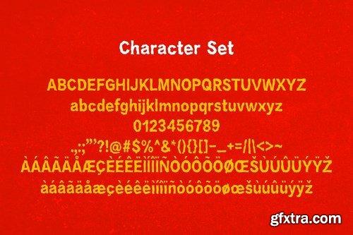 Crazygon - Display Typeface