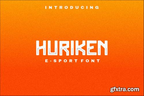 Huriken E-Sport Font