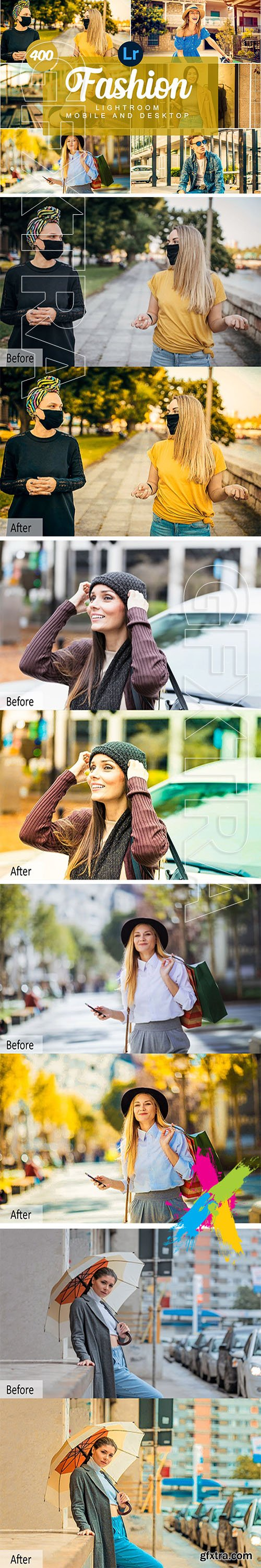 CreativeMarket - Fashion Mobile and Desktop PRESETS 5734596