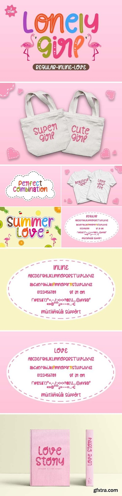 Lonely Girl Font