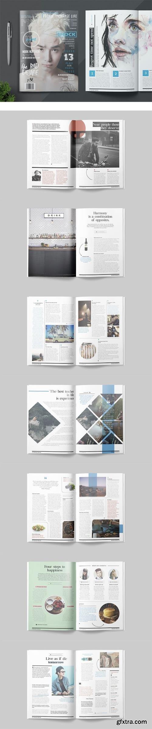 Magazine Template NUR454X