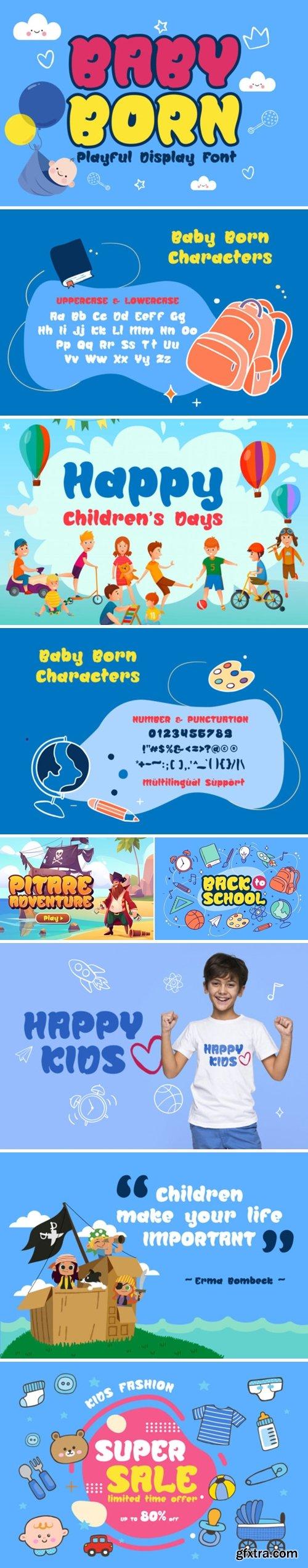 Baby Born Font