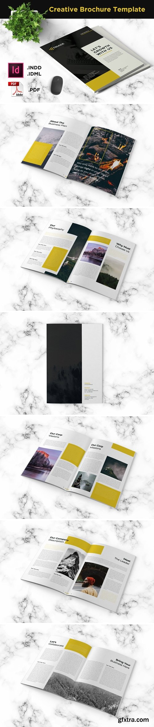 Brochure Template - iWantemp