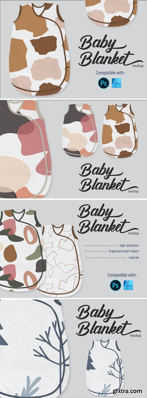 Baby blanket | Mockup