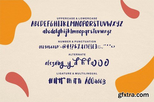 Auglie A Cute Font