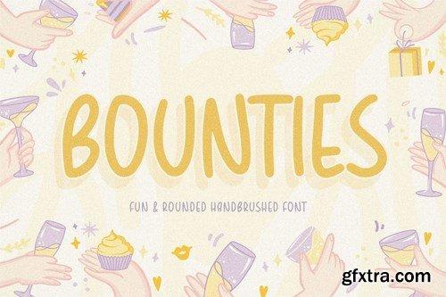Bounties Display Font