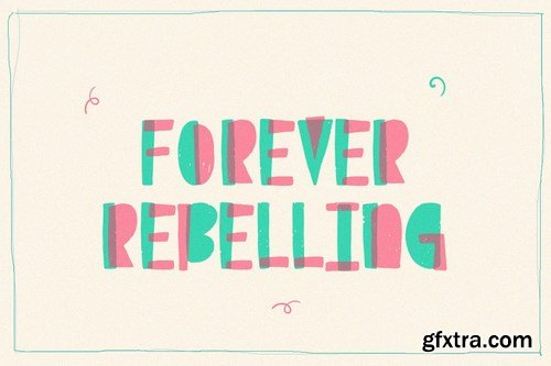 Punk Lover Font Duo