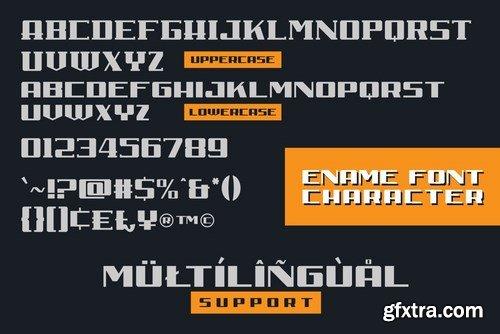 Ename Retro Sans