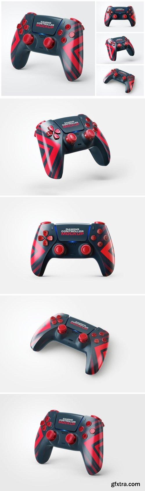 PS5 Controller Mockup Set