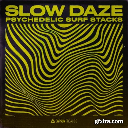 Capsun ProAudio Slow Daze Psychedelic Surf Stacks