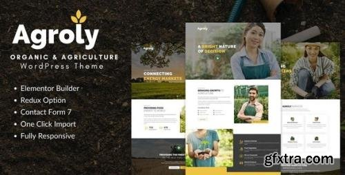 ThemeForest - Agroly v1.0 - Organic & Agriculture Food WordPress Theme (Update: 14 January 21) - 28996955