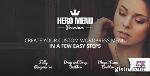 CodeCanyon - Hero Menu v1.15.2 - Responsive WordPress Mega Menu Plugin - 10324895