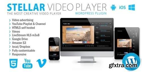 CodeCanyon - Stellar Video Player v2.2 - Wordpress plugin - 20939246