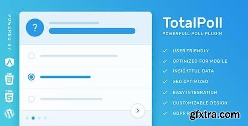 CodeCanyon - TotalPoll Pro v4.5.0 - Responsive WordPress Poll Plugin - 7647147 - NULLED