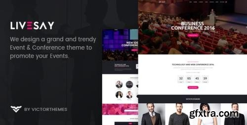 ThemeForest - Livesay v1.9 - Event & Conference WordPress Theme - 20265017