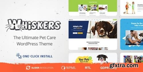ThemeForest - Whiskers v1.0.7 - Pet and Vet WordPress Theme - 22066245