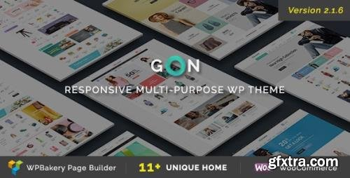 ThemeForest - Gon v2.1.6 - Responsive Multi-Purpose WordPress Theme - 13573615