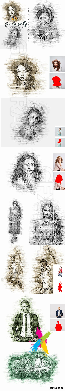 CreativeMarket - Pro Sketch Photoshop Action 5777112