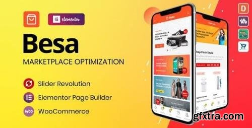 ThemeForest - Besa v1.2.9 - Elementor Marketplace WooCommerce Theme - 25205400