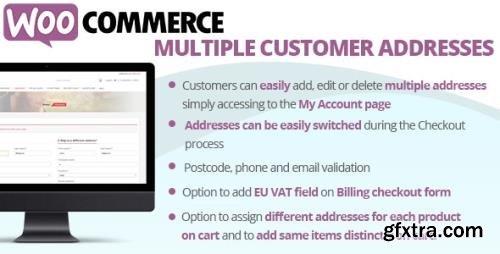 CodeCanyon - WooCommerce Multiple Customer Addresses v18.4 - 16127030 - NULLED