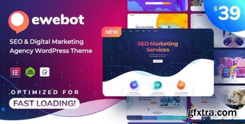ThemeForest - Ewebot v2.2.7 - SEO Marketing & Digital Agency - 24776025 - NULLED