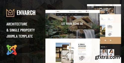 ThemeForest - EnvArch v1.0.0 - Architecture and Single Property Joomla Template - 29831200