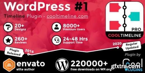 CodeCanyon - Cool Timeline Pro v3.5.2 - WordPress Timeline Plugin - 17046256 - NULLED