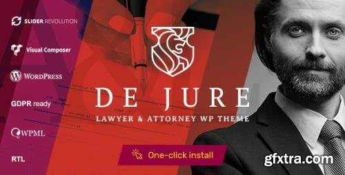 ThemeForest - De Jure v1.1.0 - Attorney and Lawyer WP Theme - 22453074