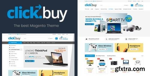 ThemeForest - ClickBuy v1.4 - Magento2 Responsive Digital Theme (Update: 11 December 20) - 21879989