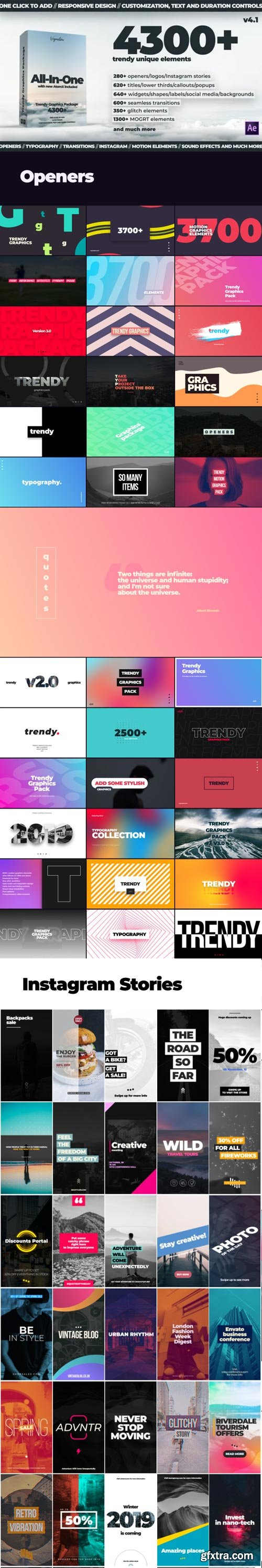 Videohive - Motion Graphics Pack V4.1 - 24321544