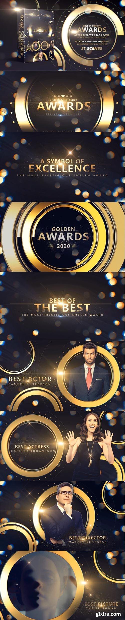 Videohive - Cobalt Golden Luxury Awards 4K - 29533719