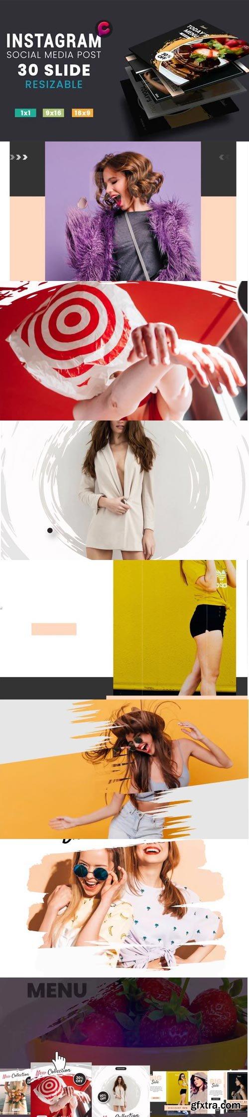 Videohive - Media Post Fashion - Food - 29517881