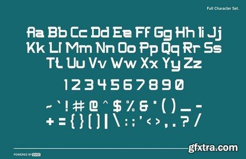 NFC FISSURE DISPLAY FONT