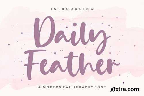 Daily Feather Script Font