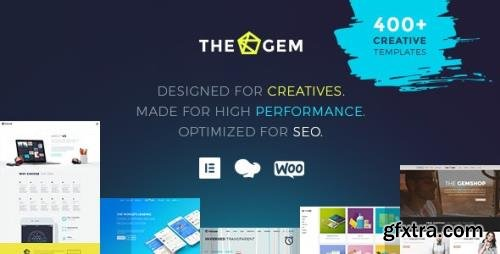 ThemeForest - TheGem v4.6.0 - Creative Multi-Purpose High-Performance WordPress Theme - 16061685 - NULLED