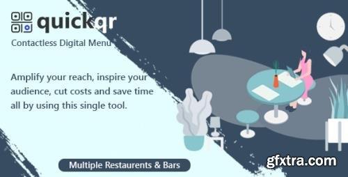 CodeCanyon - QuickQR v5.5 - Saas - Contactless Restaurant QR Menu Maker - 29012439 - NULLED