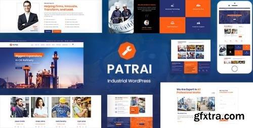 ThemeForest - Patrai Industry v1.9 - Industrial Manufacturer - 23792305