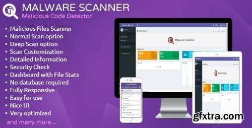 CodeCanyon - Malware Scanner v1.5 - Malicious Code Detector - 5609275