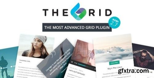 CodeCanyon - The Grid v2.7.9.1 - Responsive WordPress Grid Plugin - 13306812 - NULLED