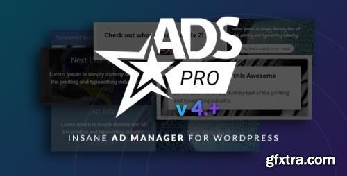 CodeCanyon - Ads Pro Plugin v4.3.97 - Multi-Purpose WordPress Advertising Manager - 10275010 - NULLED