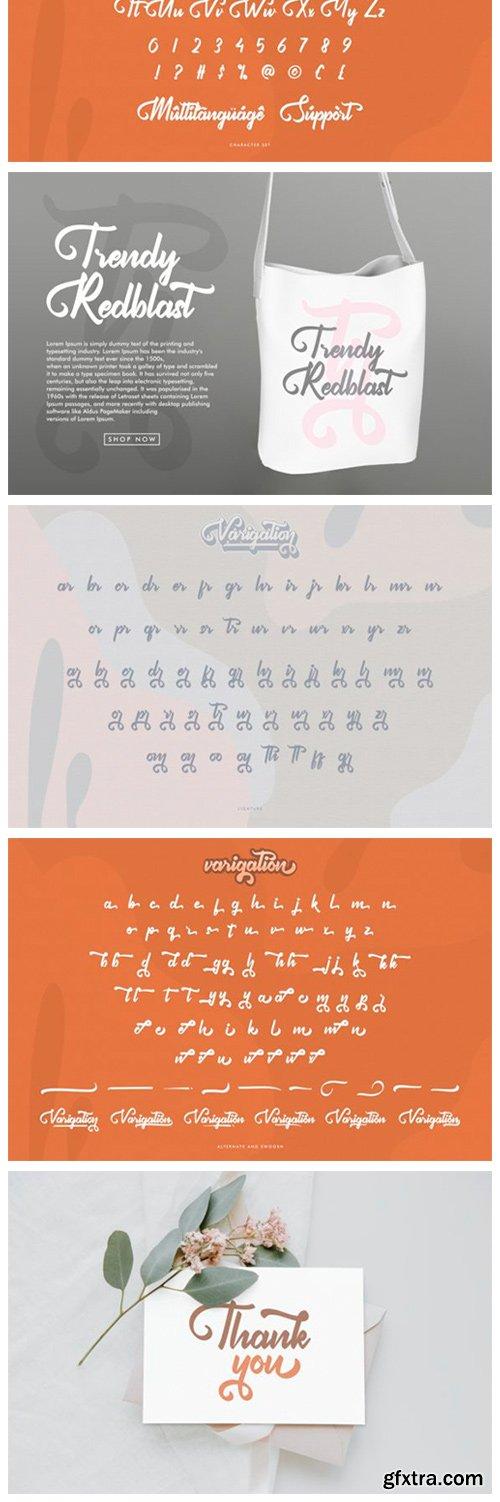 Varigation Font