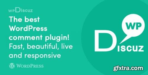 wpDiscuz v7.1.0 - WordPress Post Comments Discussion Plugin + wpDiscuz Premium Add-Ons - NULLED