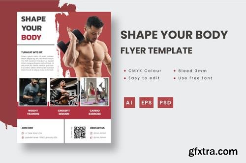 Shape Your Body - Flyer Template