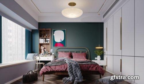 Modern Style Bedroom 595