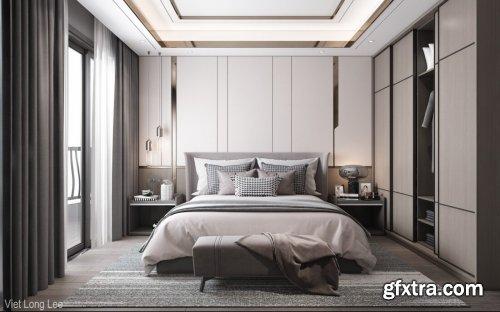 Modern Style Bedroom 596