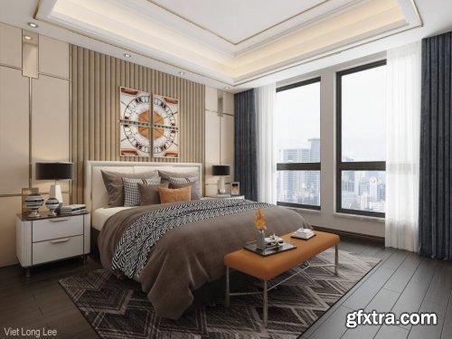 Modern Style Bedroom 597