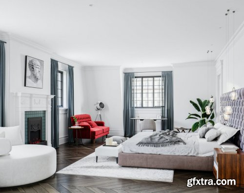 Modern Style Bedroom 599
