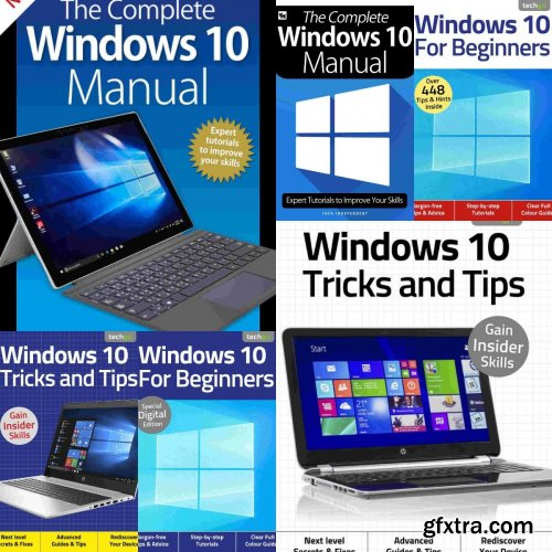 Windows 10 The Complete Manual,Tricks And Tips,For Beginners - Full Year 2020 Collection